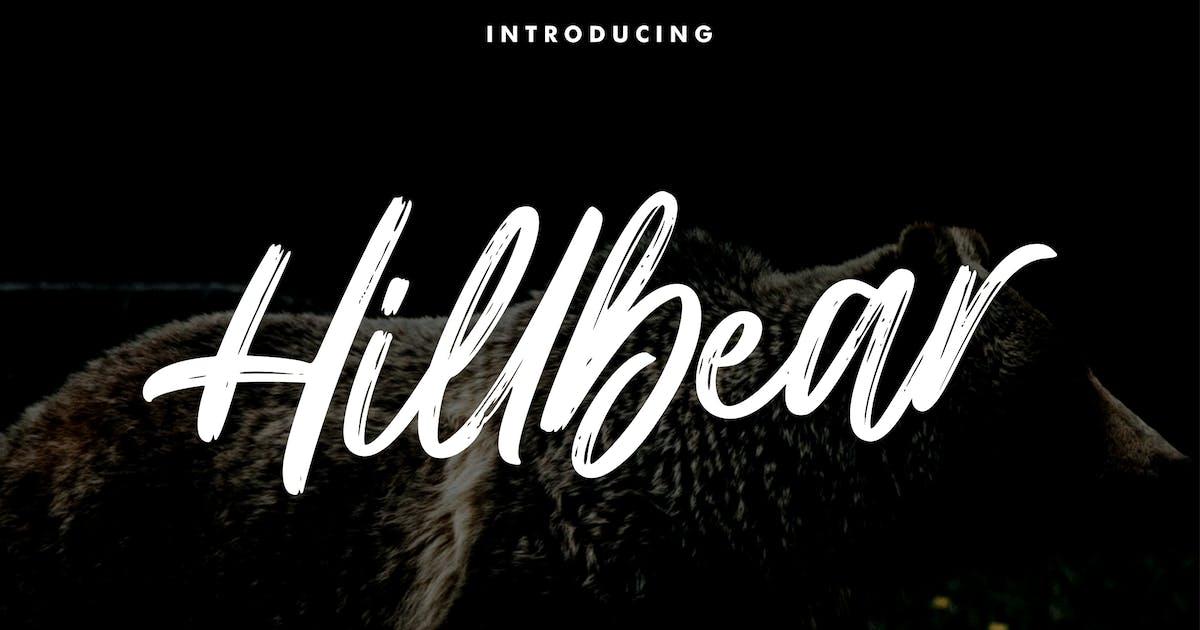 Download Hillbear - Handbrush Script Font by StringLabs