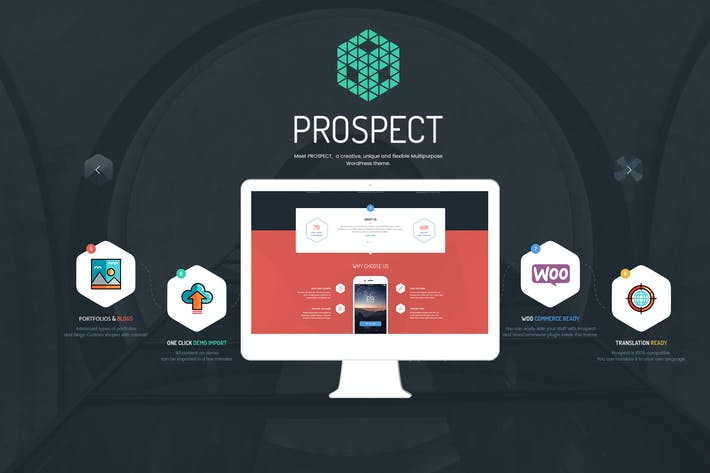Thumbnail for Prospect - Creative Multipurpose WordPress Theme