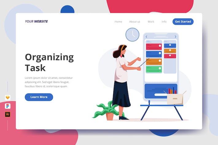 Thumbnail for Organizing Task - Landing Page
