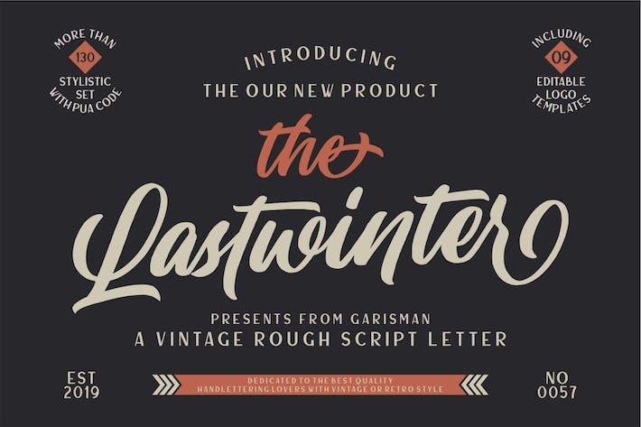 Lastwinter | Script Vintage
