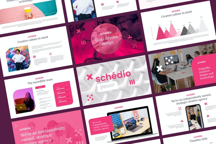 Thumbnail for SCHEDIO - Multipurpose Business Keynote Template