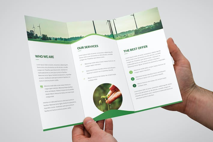 Thumbnail for Brochure – Wave Multipurpose Tri-Fold