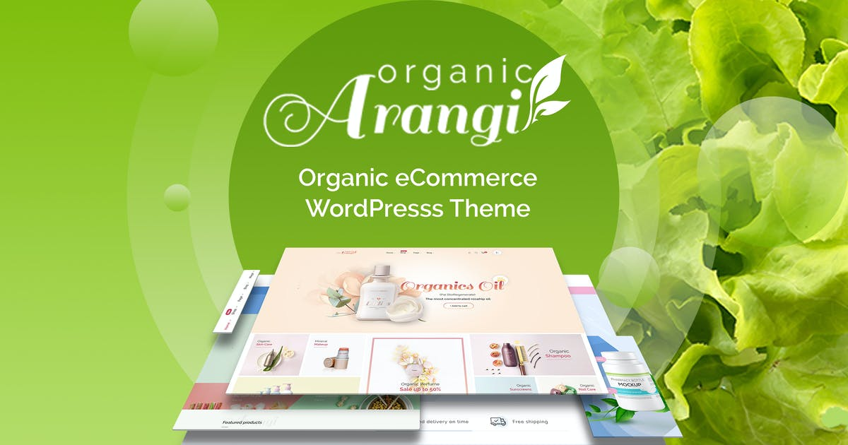 Download Arangi - Organic WooCommerce Theme by ArrowHiTech