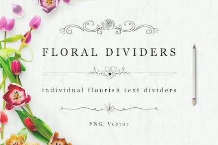 Flourish Text Dividers + Bonus
