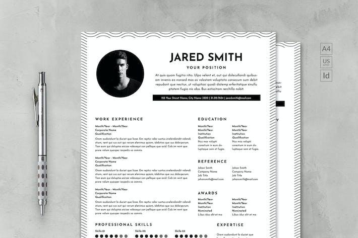 Thumbnail for Trendy CV & Resume