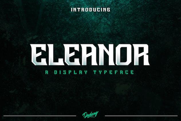 Eleanor Display Font
