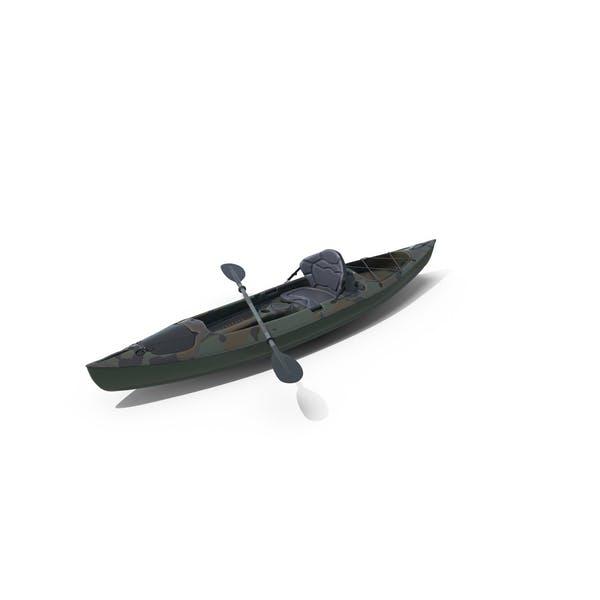 Camo Kayak