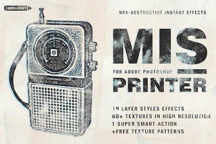 Misprinter for Adobe Photoshop