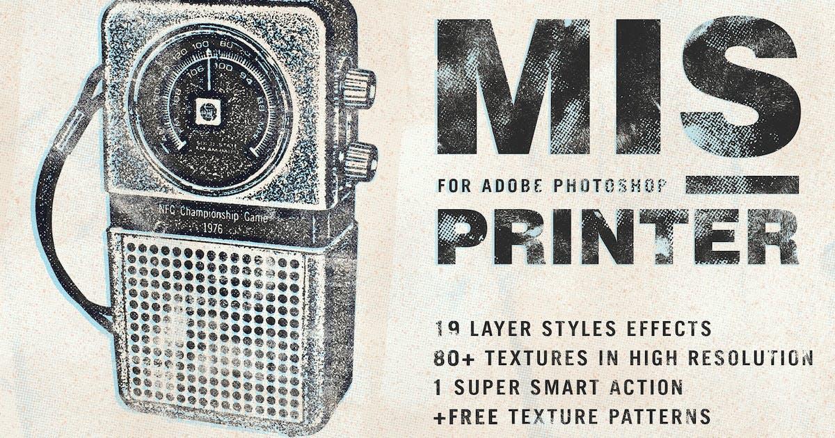 Download Misprinter for Adobe Photoshop by guerillacraft