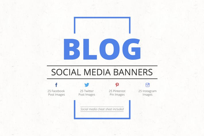 Thumbnail for Blog Social Media Banners