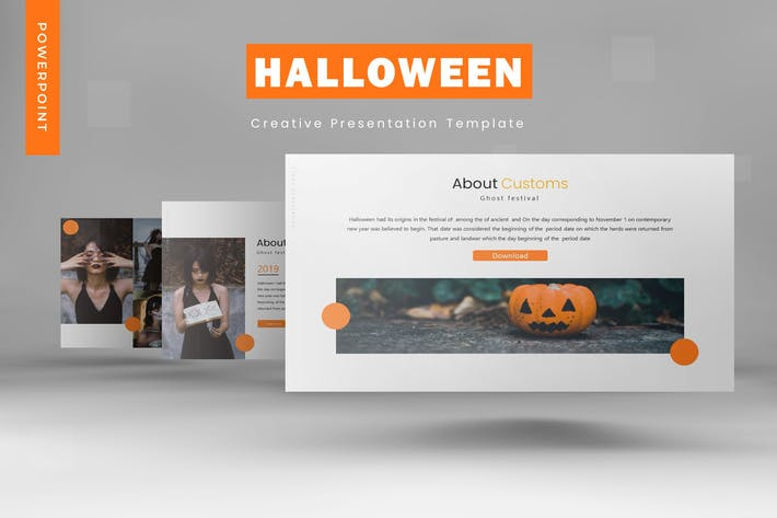 Thumbnail for Halloween - Powerpoint Template