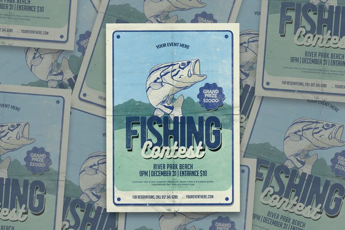 Thumbnail for Fishing Contest Flyer