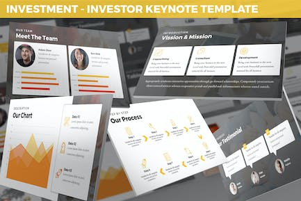Investment - Investor Keynote Template