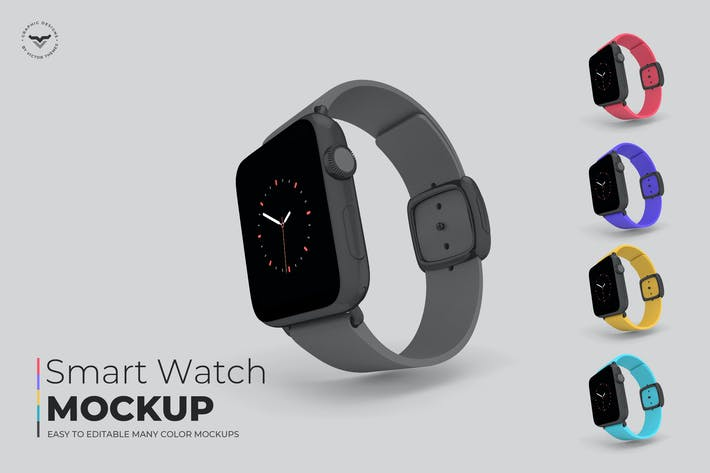 Thumbnail for Smart Watch Mockups