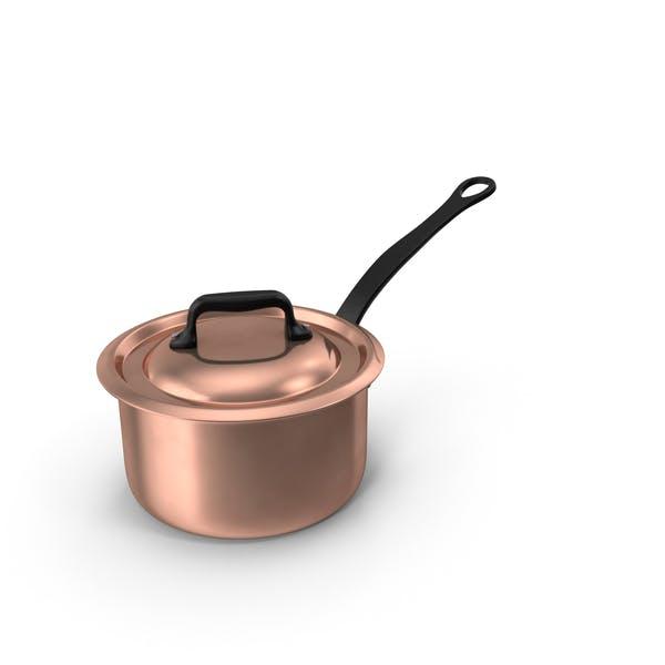 Thumbnail for Copper 9qt Saucepan