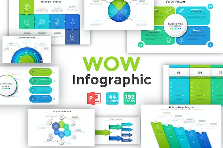 Thumbnail for Wow Infographic For Powerpoint
