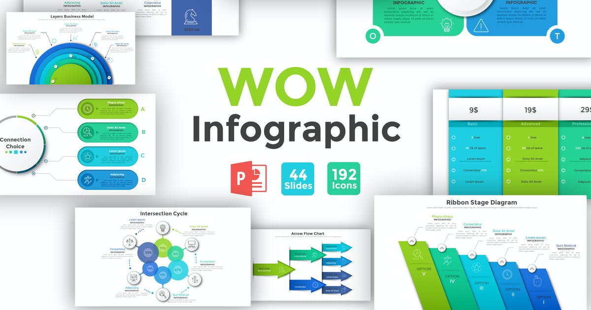 Download Wow Infographic For Powerpoint by Andrew_Kras