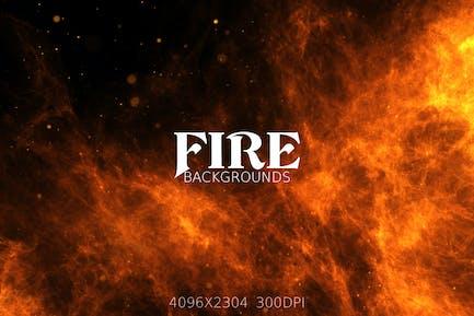 Feuer-Hintergründe