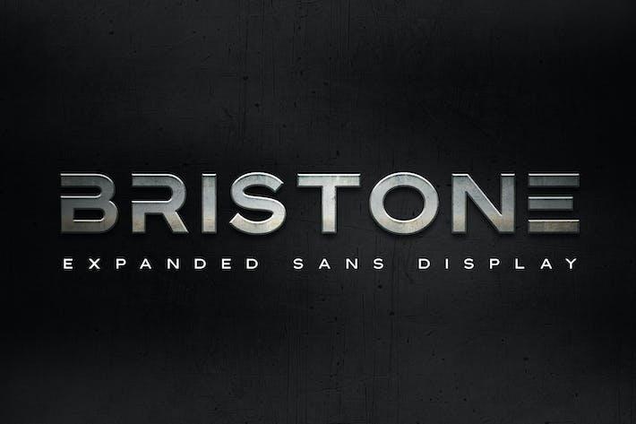 Thumbnail for Bristone - Expanded Sans Family