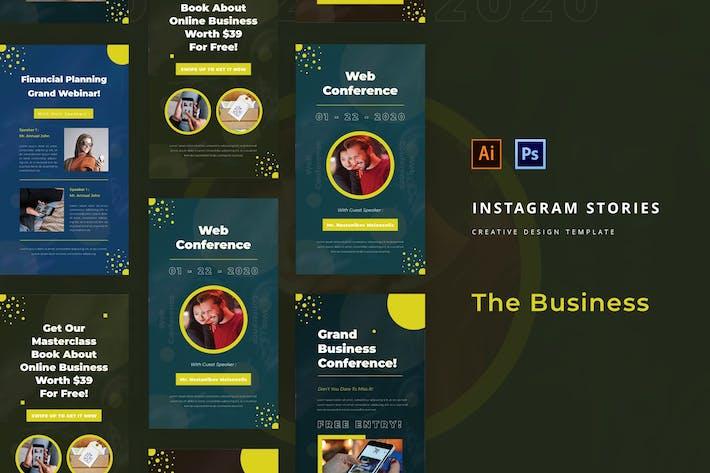 Thumbnail for Geschäftskonferenz Instagram Story