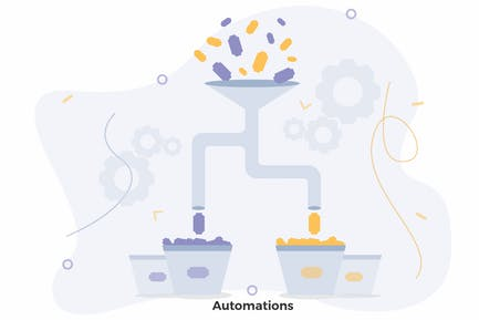 Automations Filter Illustration CRM