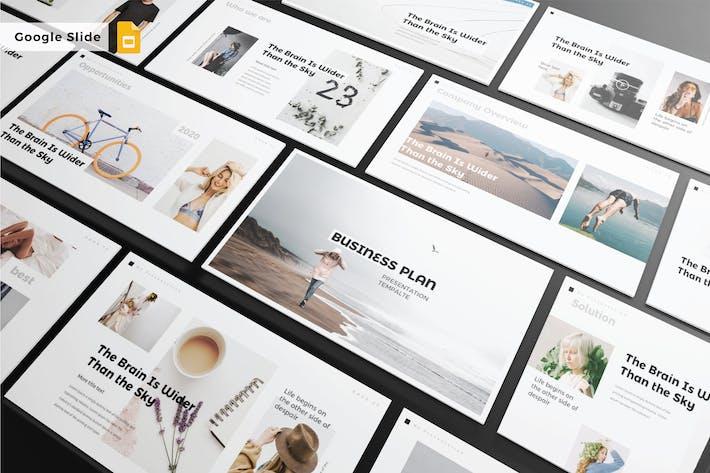 Thumbnail for BUSINESS PLAN - Google Slide Template V229