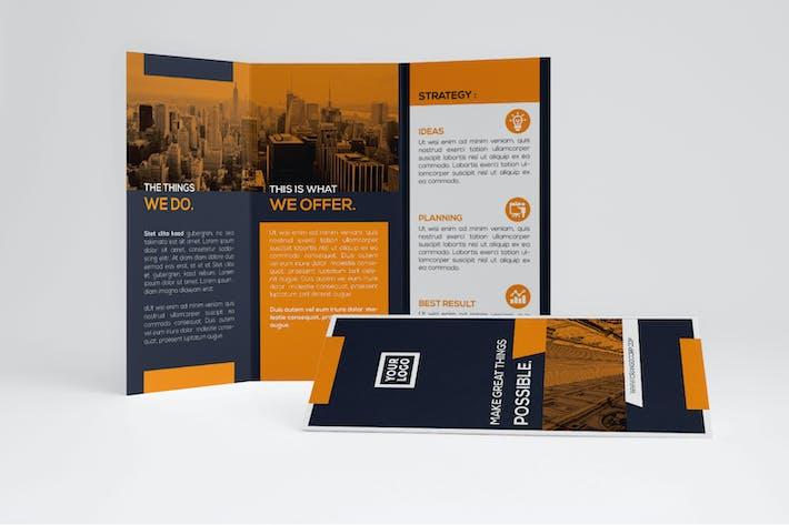 Thumbnail for Orange Business Trifold