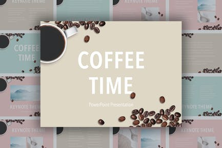 Coffee Time Powerpoint Template