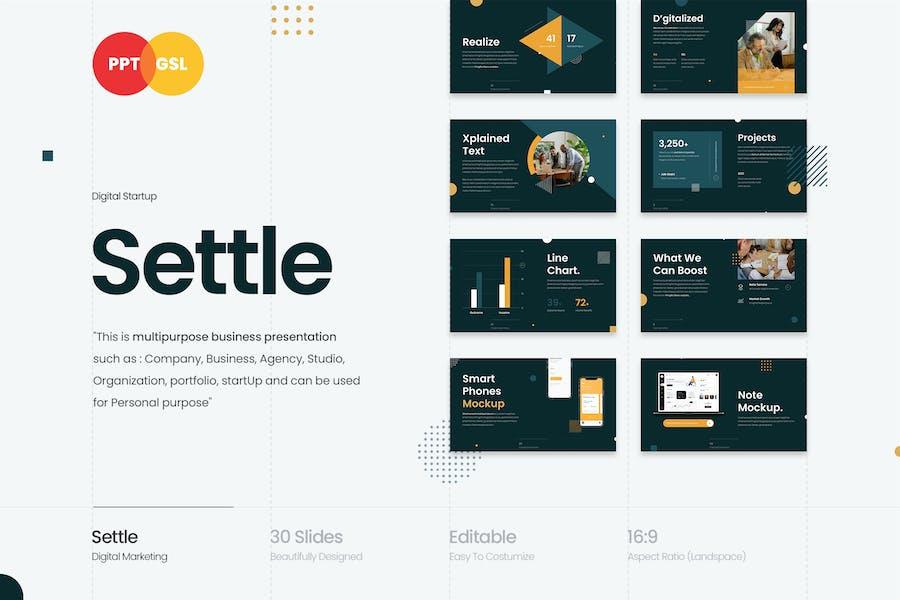Settle - Цифровой запуск
