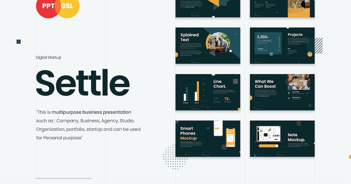 Download Settle - Digital Startup by celciusdesigns