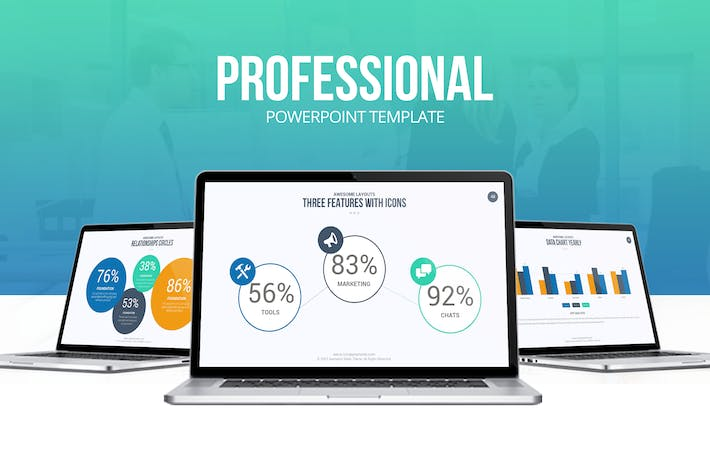 Professional Powerpoint Template By Slidefusion On Envato Elements