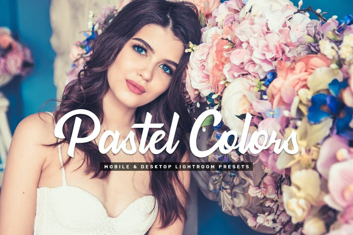 Thumbnail for Pastel Colors Mobile & Desktop Lightroom Presets