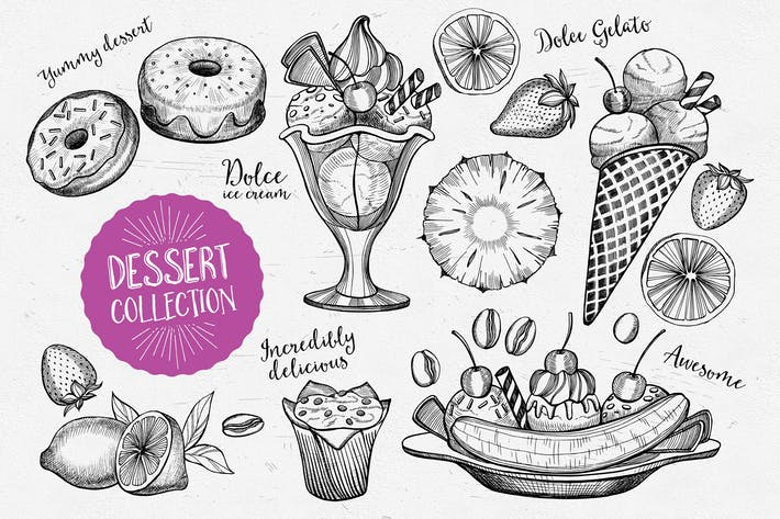 Thumbnail for Dessert Food Elements