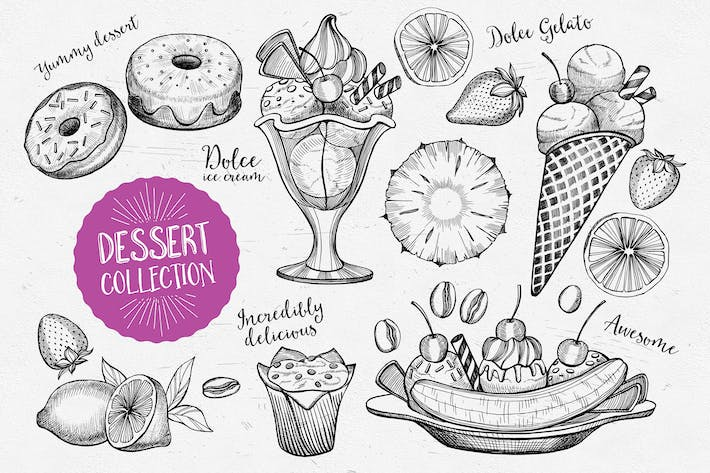 Cover Image For Éléments alimentaires à dessert