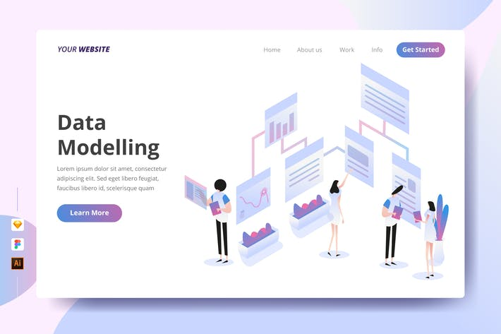 Thumbnail for Data Modelling - Landing Page