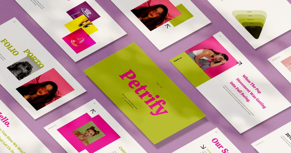 Download Petrify Creative Powerpoint Template by visuelcolonie