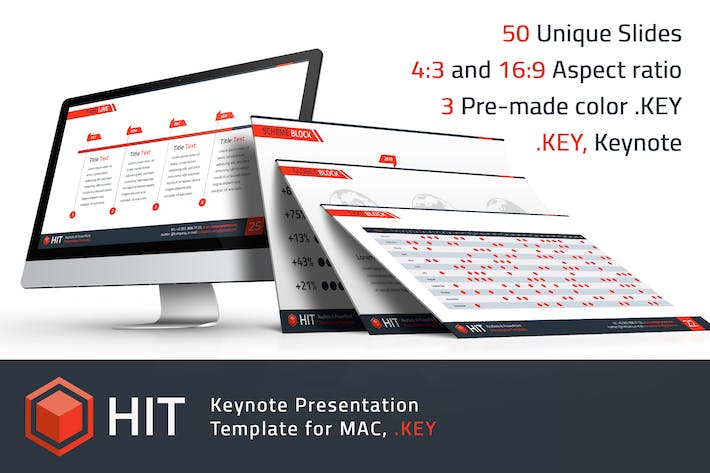 Thumbnail for HIT - Professional Keynote Template