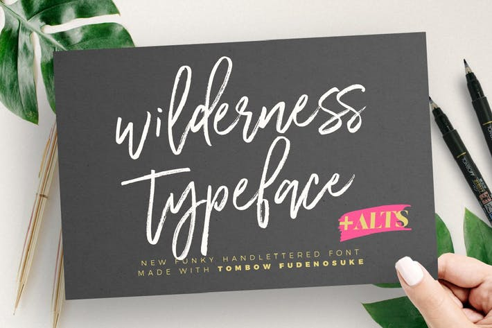 Thumbnail for Wilderness Typeface