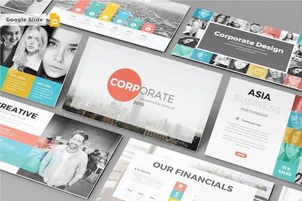 CORPORATE - Google Slide Template V157