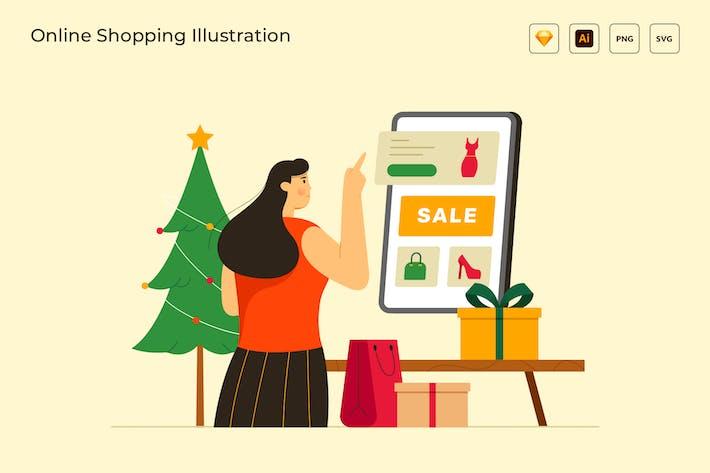 Thumbnail for Online-Shopping-Promo-Verkaufs-Rabatt