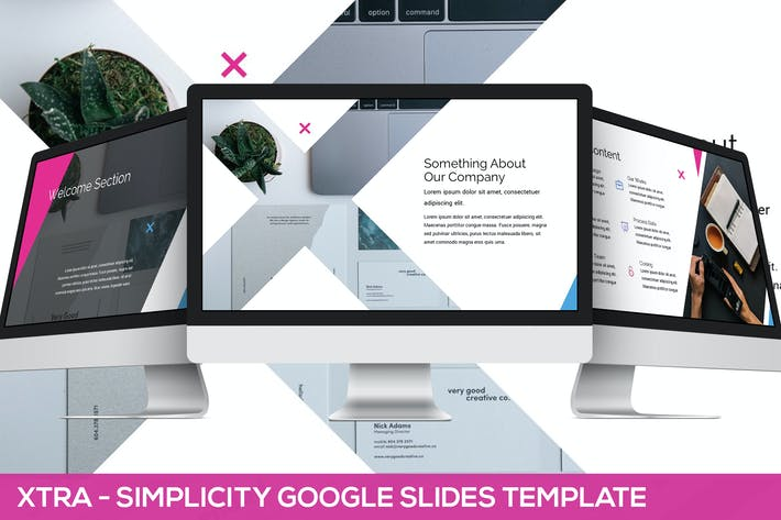 Thumbnail for Xtra - Simplicity Google Slides Template