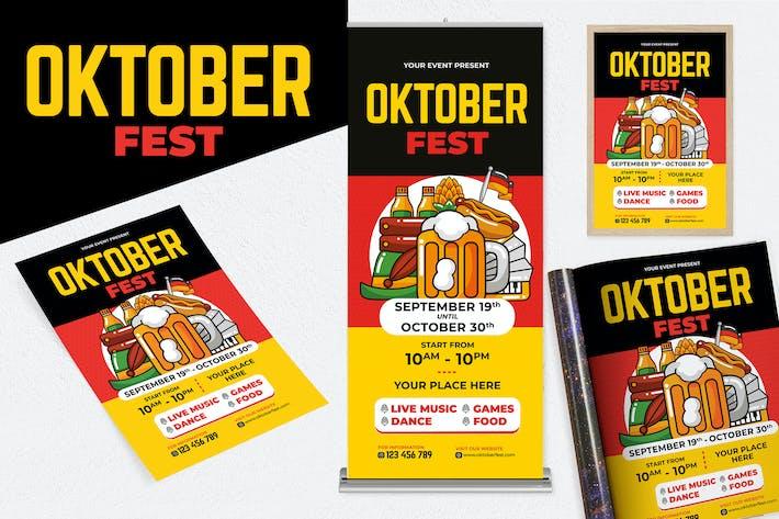 Thumbnail for Oktoberfest Print Templates