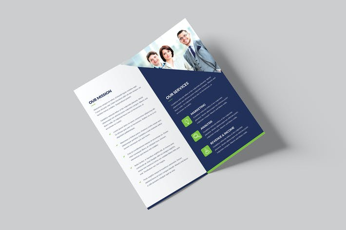 Thumbnail for Brochure – Company Bi-Fold DL