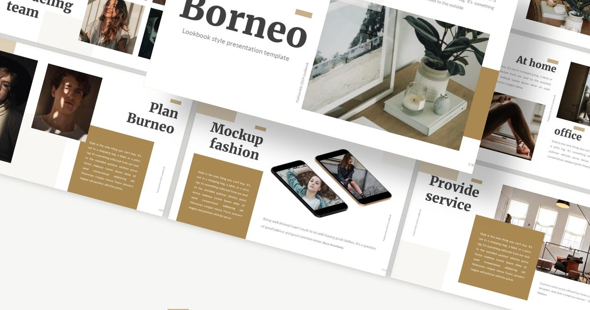 Download Borneo - Powerpoint/GoogleSlides/Keynote Template by Macademia