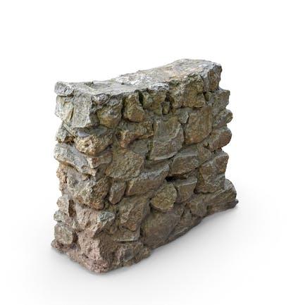 Kleine Felswand
