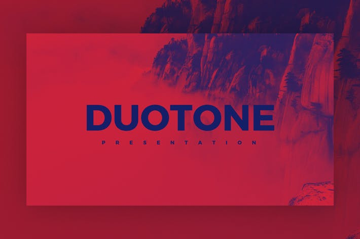 Thumbnail for Duotone - Keynote Template