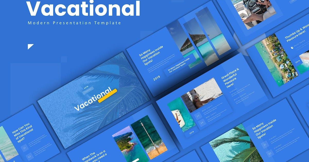 Download Vacational  - Keynote Template by karkunstudio