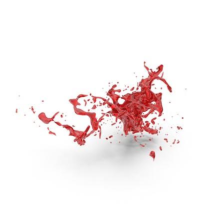 Red Splash Effect