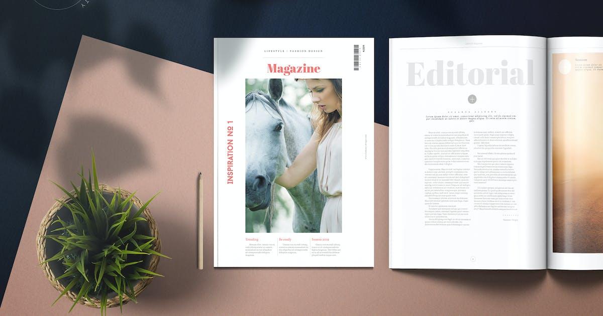 Lifestyle Universal Magazine by Kahuna_Design on Envato Elements