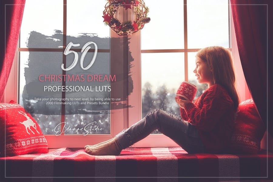 50 Christmas Dream LUTs and Presets Pack